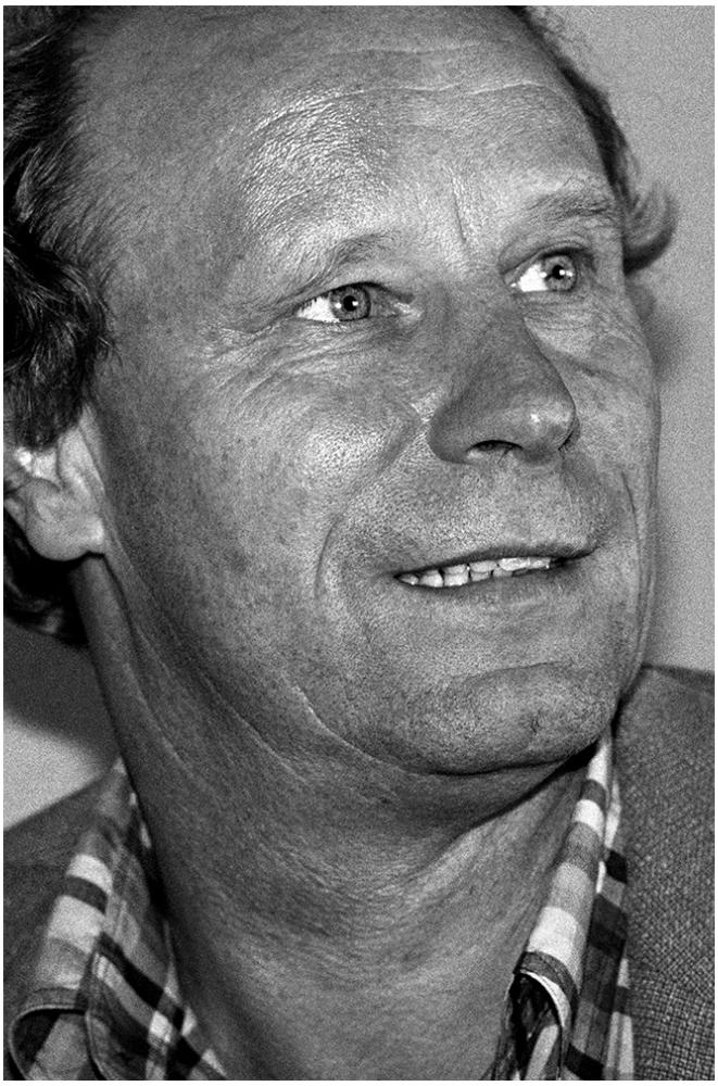 Berti Vogts foto organico Picture Bild Krackhardt Christof Menschen des veröffentlichten Lebens