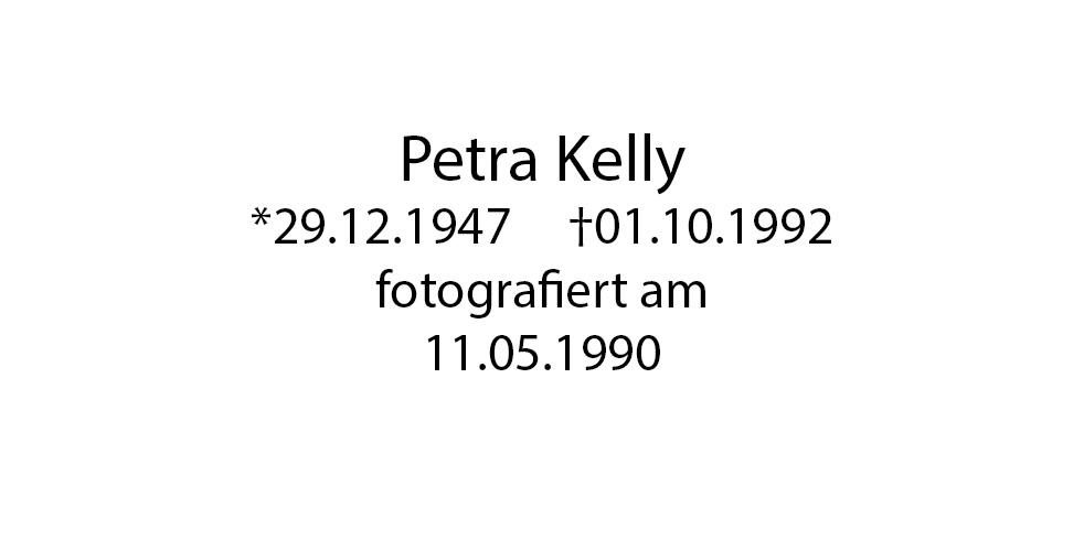 Petra Kelly foto organico Picture Bild Krackhardt Christof Menschen des veröffentlichten Lebens Geburt Birth Datum