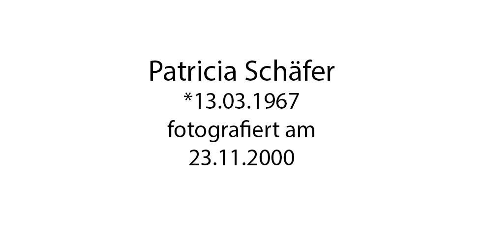 Patricia Schäfer foto organico Picture Bild Krackhardt Christof Menschen des veröffentlichten Lebens Geburt Birth Datum