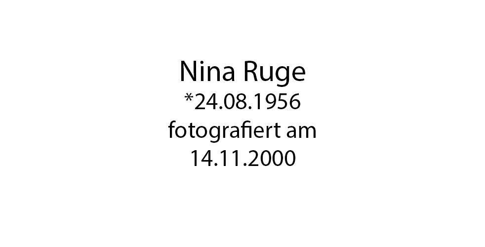 Nina Ruge foto organico Picture Bild Krackhardt Christof Menschen des veröffentlichten Lebens Geburt Birth Datum