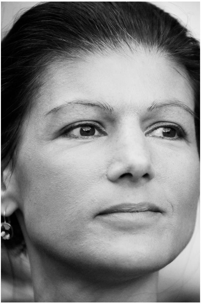 Sahra Wagenknecht foto organico Picture Bild Krackhardt Christof Menschen des veröffentlichten Lebens