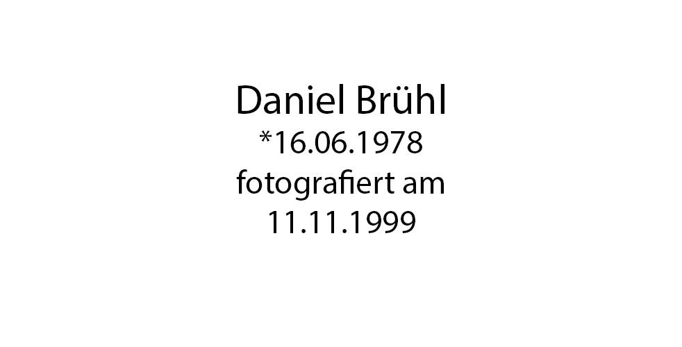 Daniel Brühl foto organico Picture Bild Krackhardt Christof Menschen des veröffentlichten Lebens Geburt Birth Datum