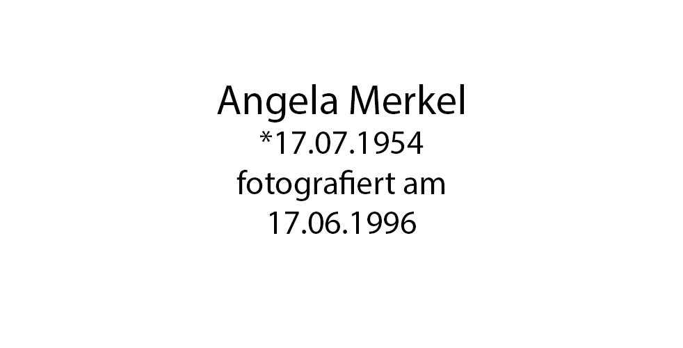Angela Merkel foto organico Picture Bild Krackhardt Christof Menschen des veröffentlichten Lebens Geburt Birth Datum