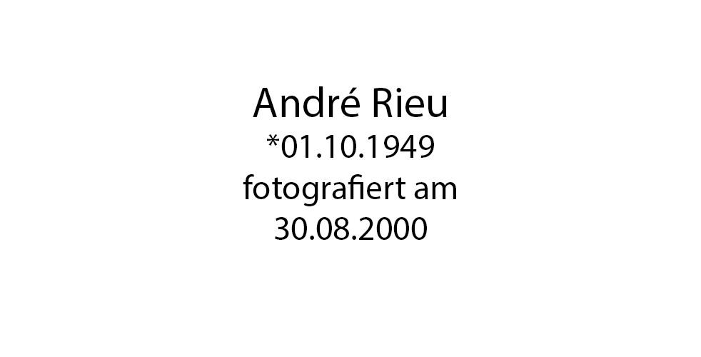 Andre Rieu foto organico Picture Bild Krackhardt Christof Menschen des veröffentlichten Lebens