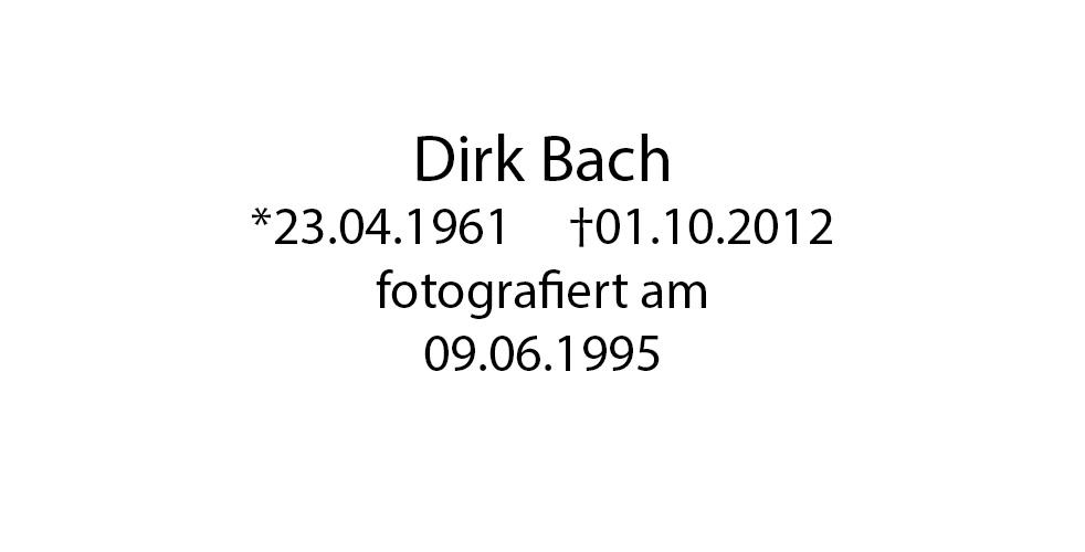 Dirk Bach foto organico Picture Bild Krackhardt Christof Menschen des veröffentlichten Lebens Geburt Birth Datum