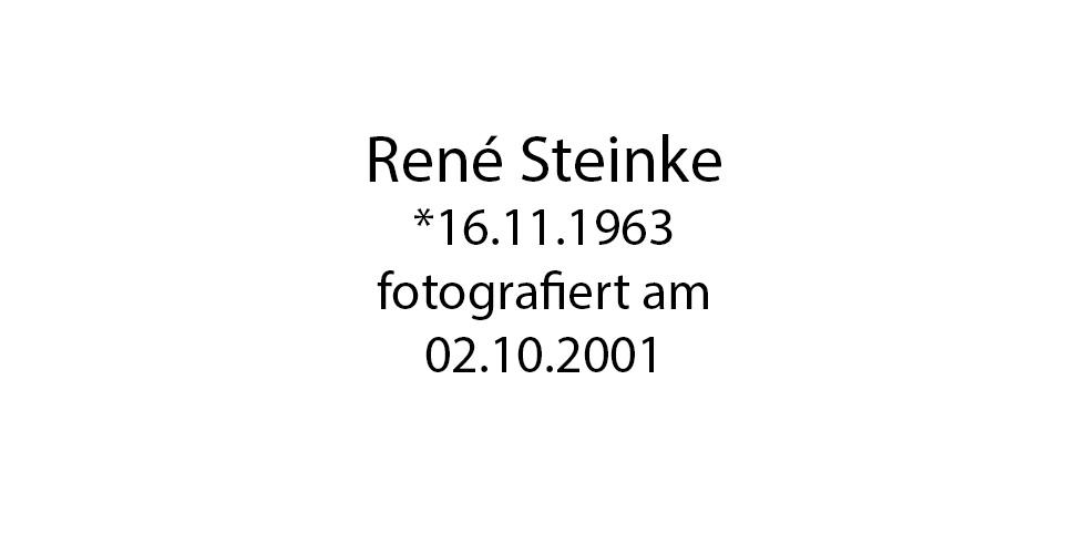 Rene Steinke foto organico Picture Bild Krackhardt Christof Menschen des veröffentlichten Lebens Geburt Birth Datum