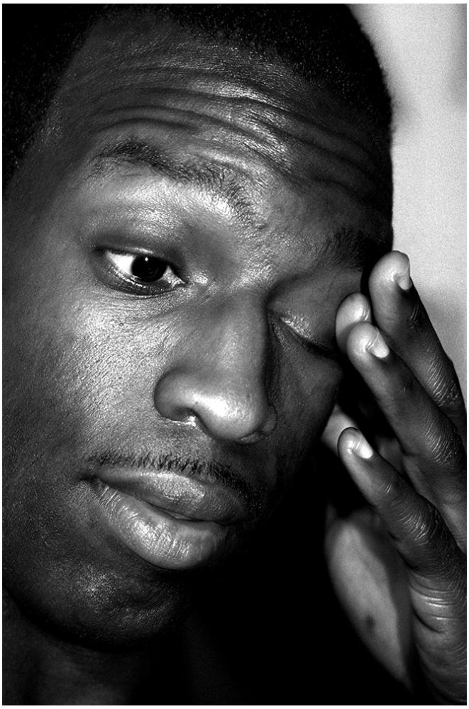 Michael Johnson Portrait foto organico Picture Bild Krackhardt Christof Menschen des veröffentlichten Lebens