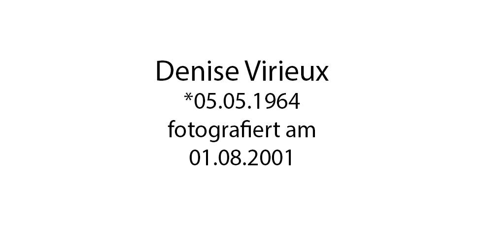 Denise Virieux foto organico Picture Bild Krackhardt Christof Menschen des veröffentlichten Lebens Geburt Birth Datum