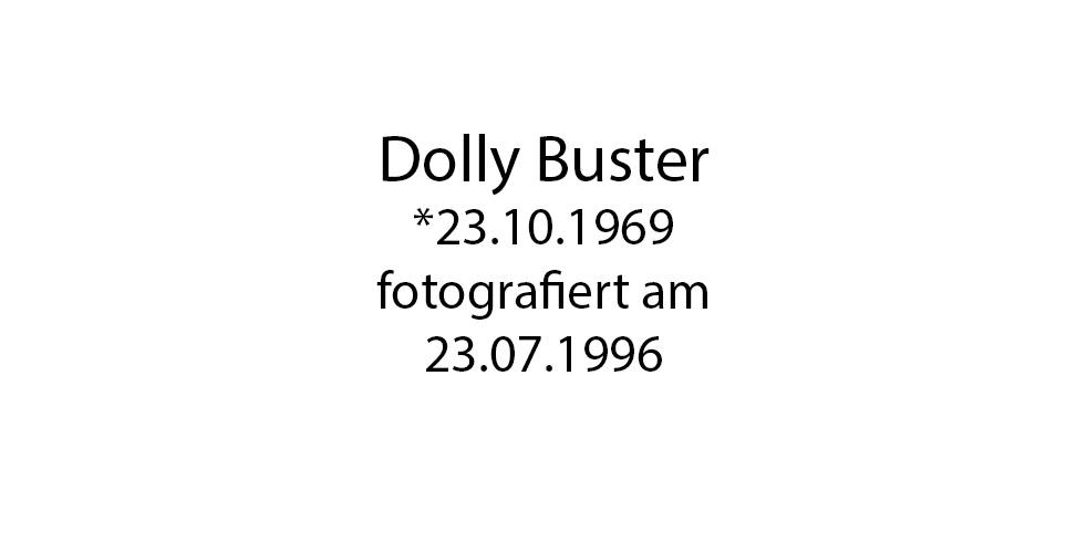 Dolly Buster foto organico Picture Bild Krackhardt Christof Menschen des veröffentlichten Lebens Geburt Birth Datum