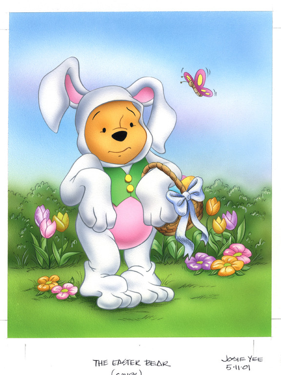Winnie the Pooh-Easter Bear