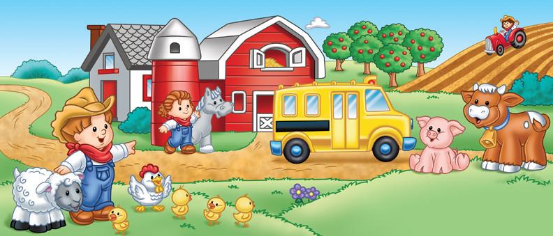 Little People- School Bus
