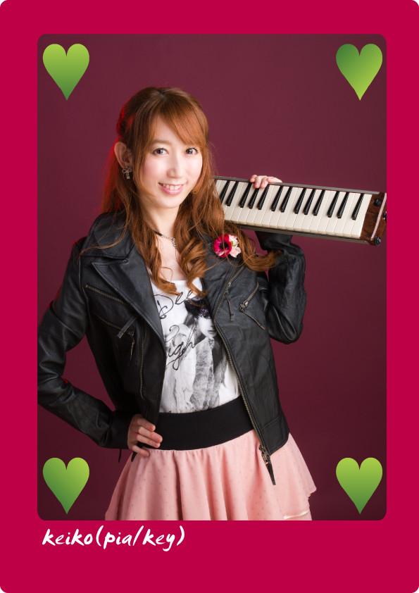 keiko(ピアノ/キーボード)
