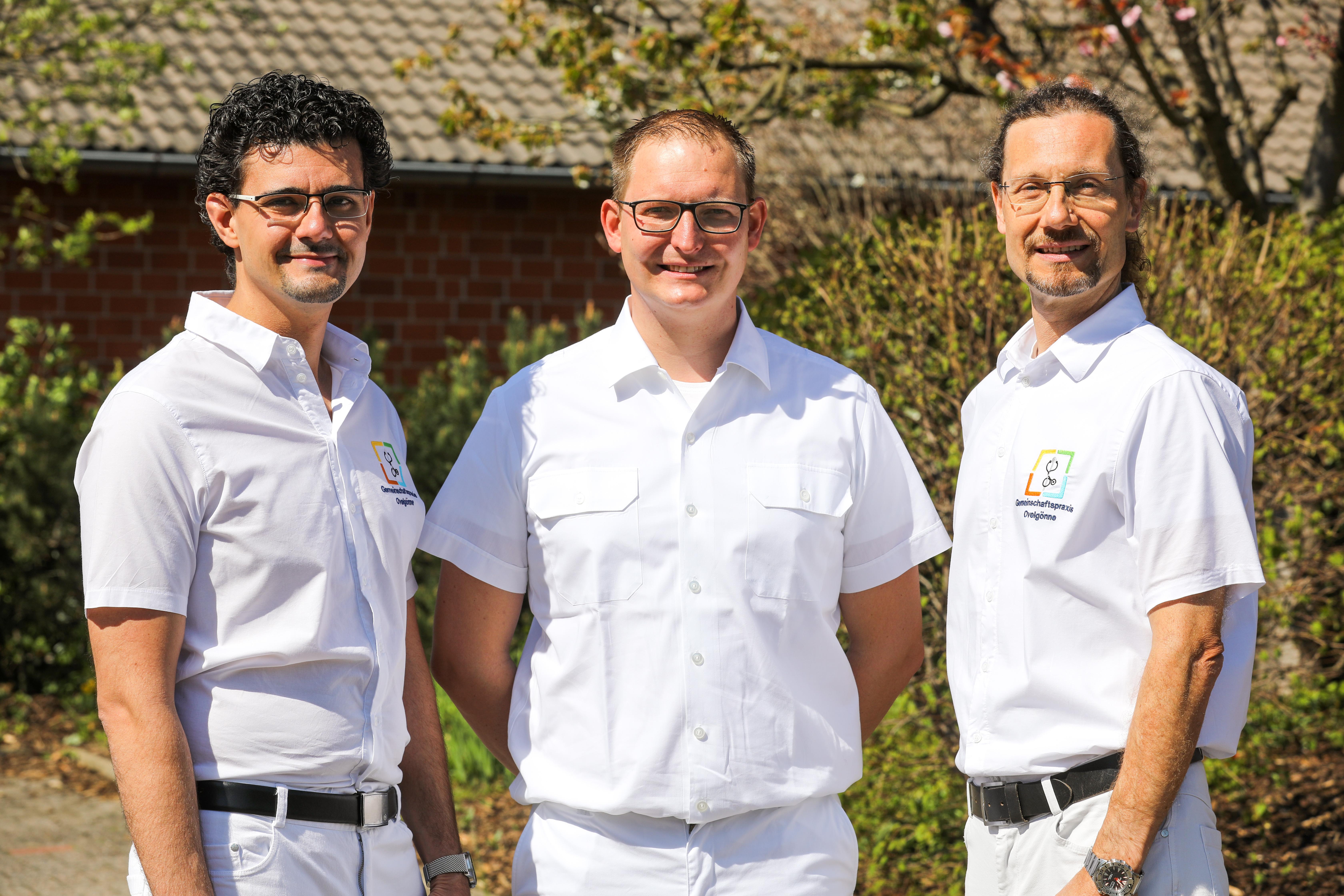 Dr Baiduc, Dr. Seemann, Thorsten Knigge. Für Ovelgönne, Oldau, Winsen und Hambühren.