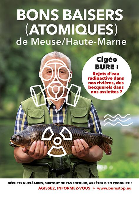 Cigéo : rejets d'eau radioactive dans nos rivières, des becquerels dans nos assiettes ?