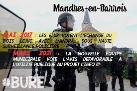 Nous avons rapidement appris la délibération défavorable de Mandres-en-Barrois, la commune du Bois Lejuc. Tout un symbole.