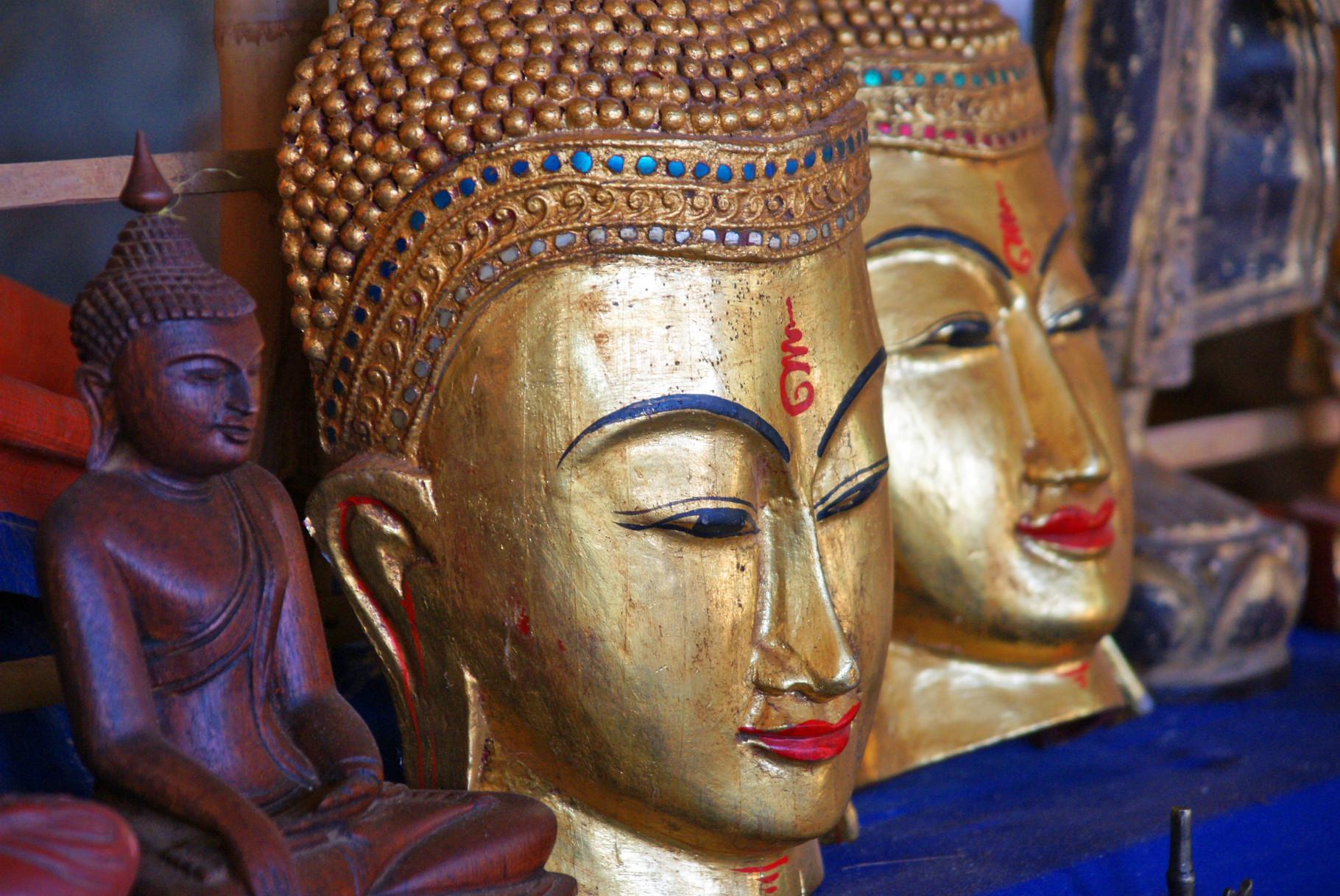 Buddhas für die Touris