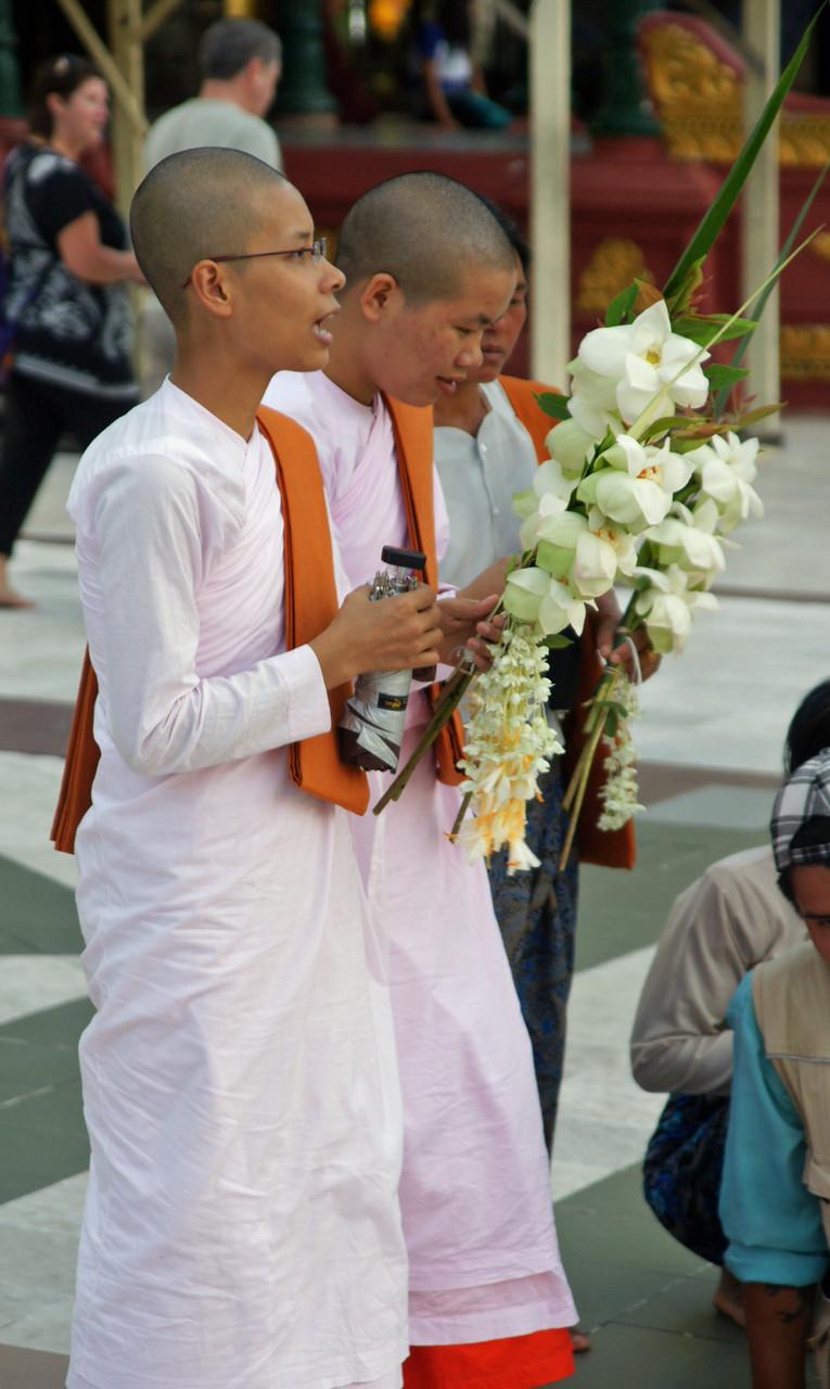 betende Buddhisten