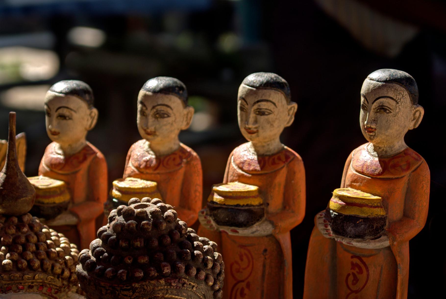 Reichlich kleine Mönche   zum Mitnehmen  für zu Hause