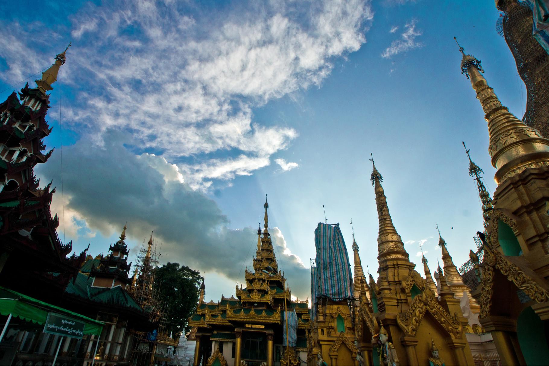 Umgebung der Shwedagonpagode
