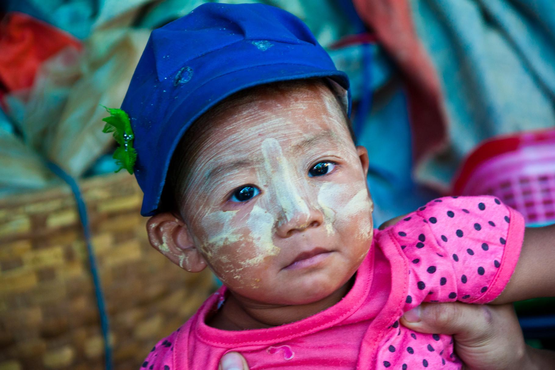 burmesische  Sonnencreme