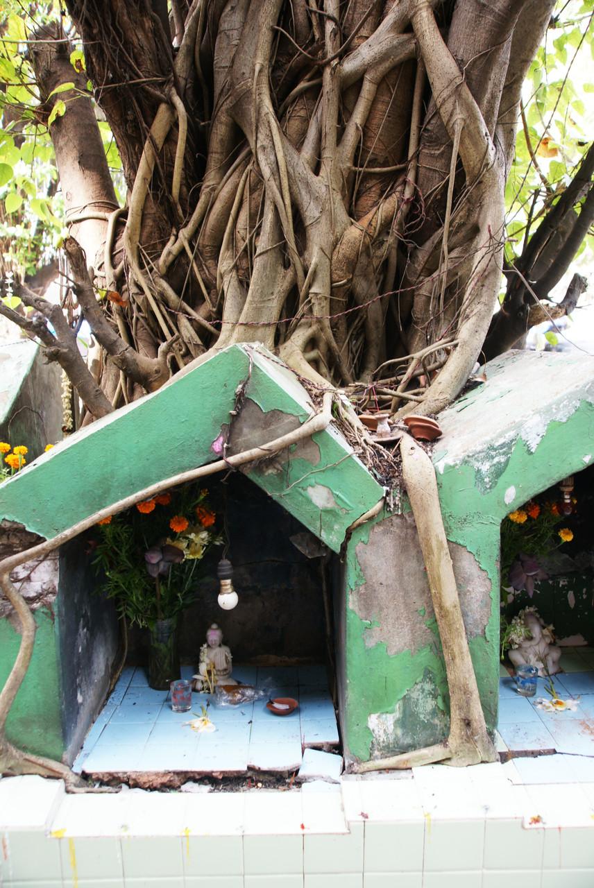 Buddhistischer Minitempel