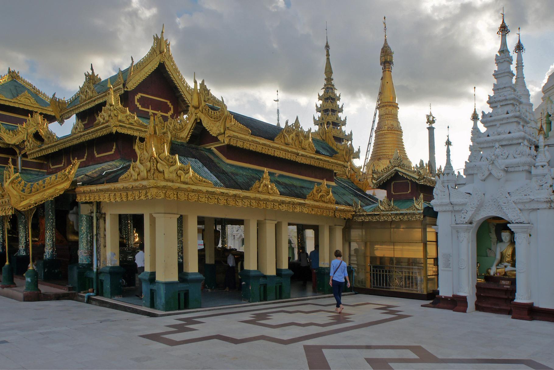 eingangsbereich zur Tempelanlage