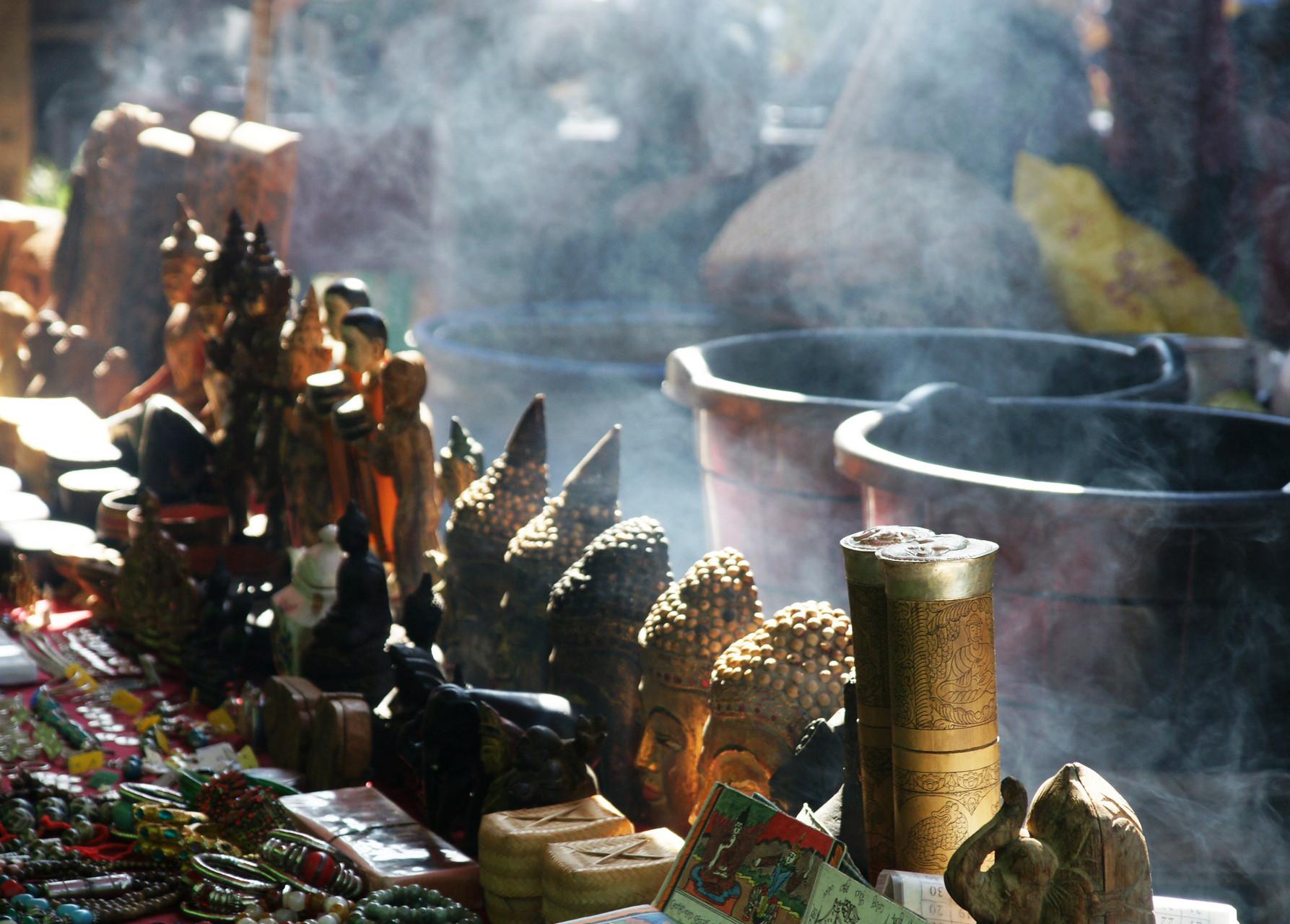 Morgenmarkt für Einheimische, aber auch Touristen