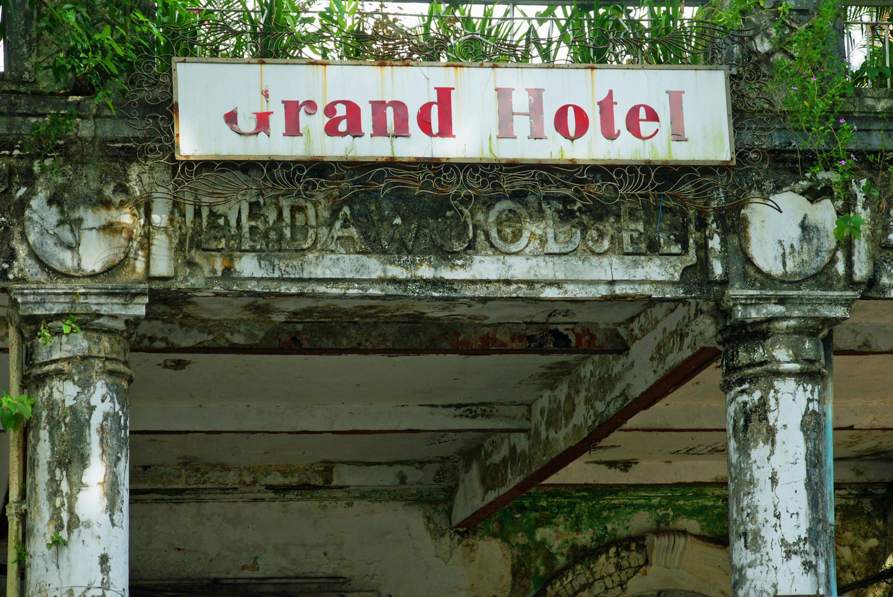 Grand Hotel  aus der Kolonialzeit