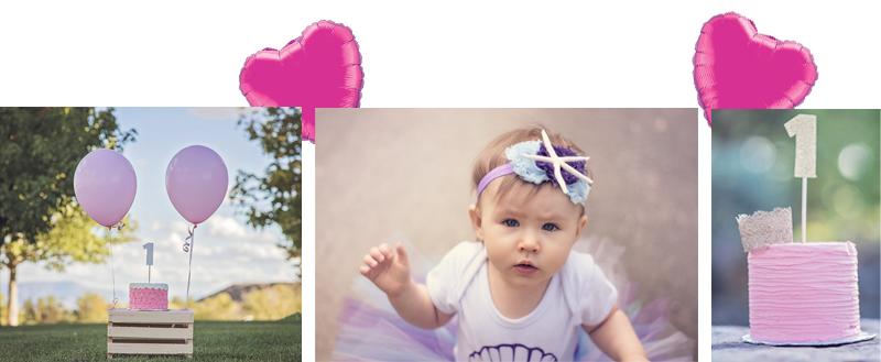 1. Fotoshooting Baby Kind Junge Mädchen 1. Geburtstag Party Babyzeit Fototermin Fotograf Luftballon Ballon Folienballon Dekoration