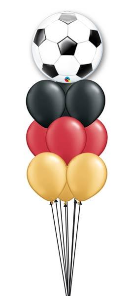 Ballon Deko Fussball Wm Party Luftballons Zum Staunen