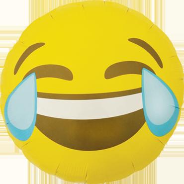 Emoji  Luftballon Ballon Folienballon Heliumballon Crying Laughing