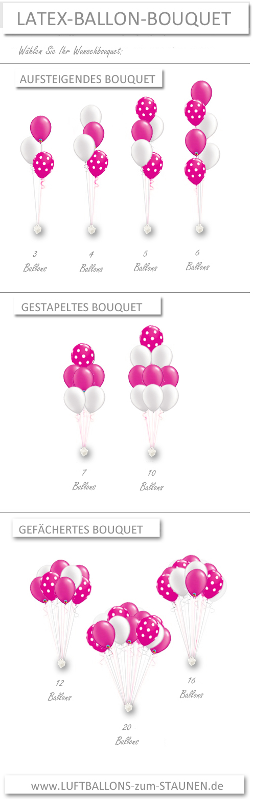 Latex-Ballon-Bouquets