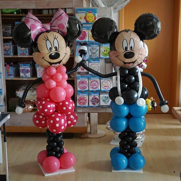 Mickey Mouse Minney Männchen Figur Geburtstag XXL Kopf Geschenk Mitbringsel Überraschung Kindergeburtstag Party Feier Deko Dekoration Ballon Luftballon Folienballon