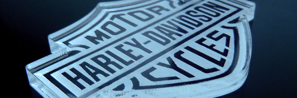 Acrilico grabado con laser