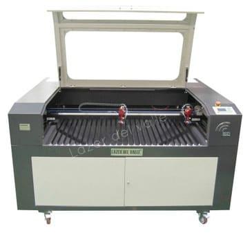 maquina, laser, doble, cabezal, doble, tubo, dos, 130W