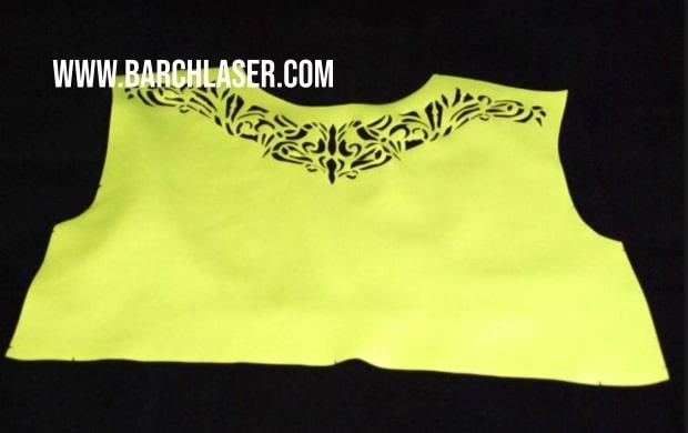 Corte de tela con maquina laser