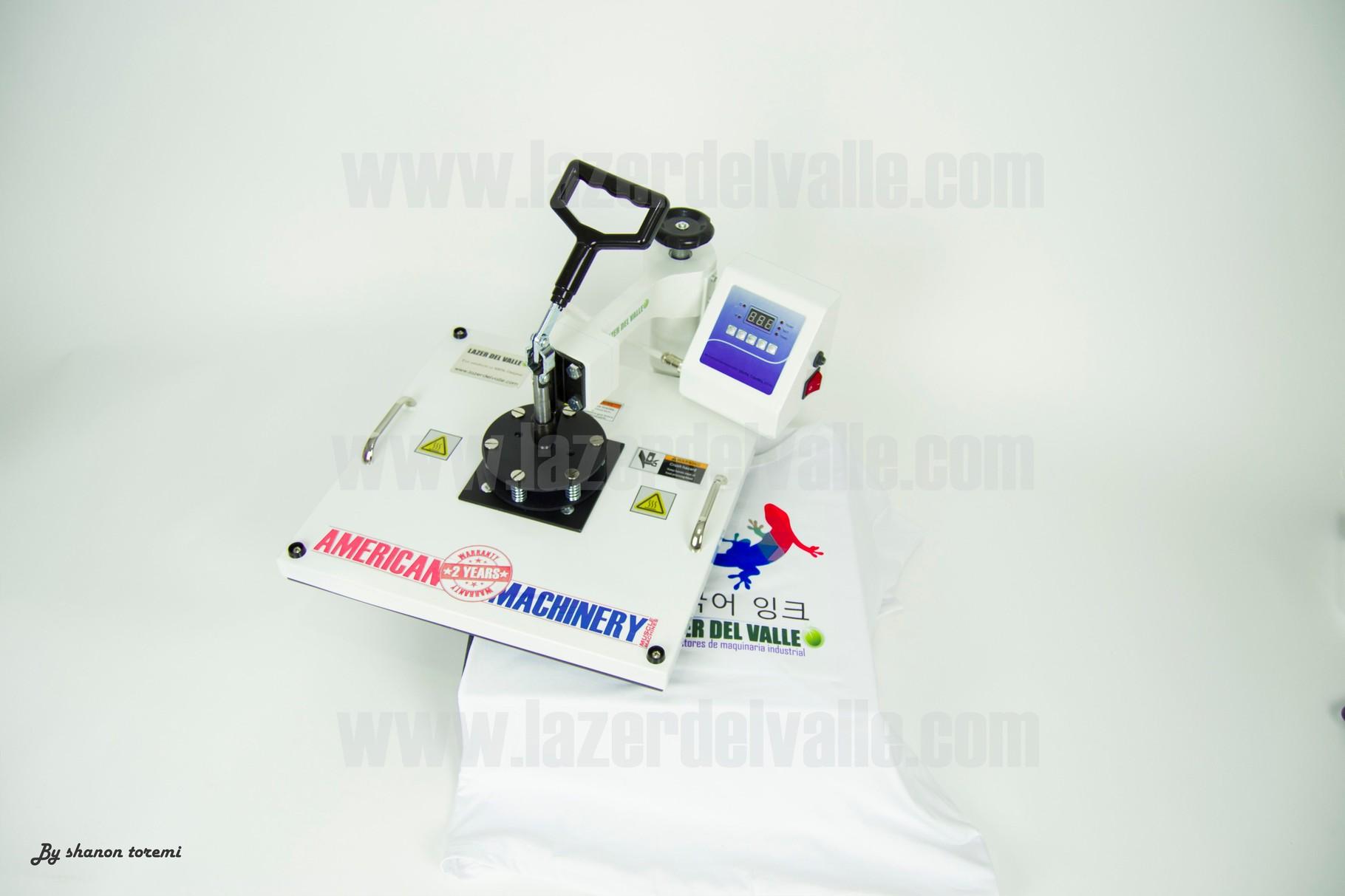 plancha termofijadora de camisetas