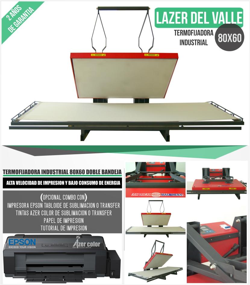 termofijadora 80x60 industrial