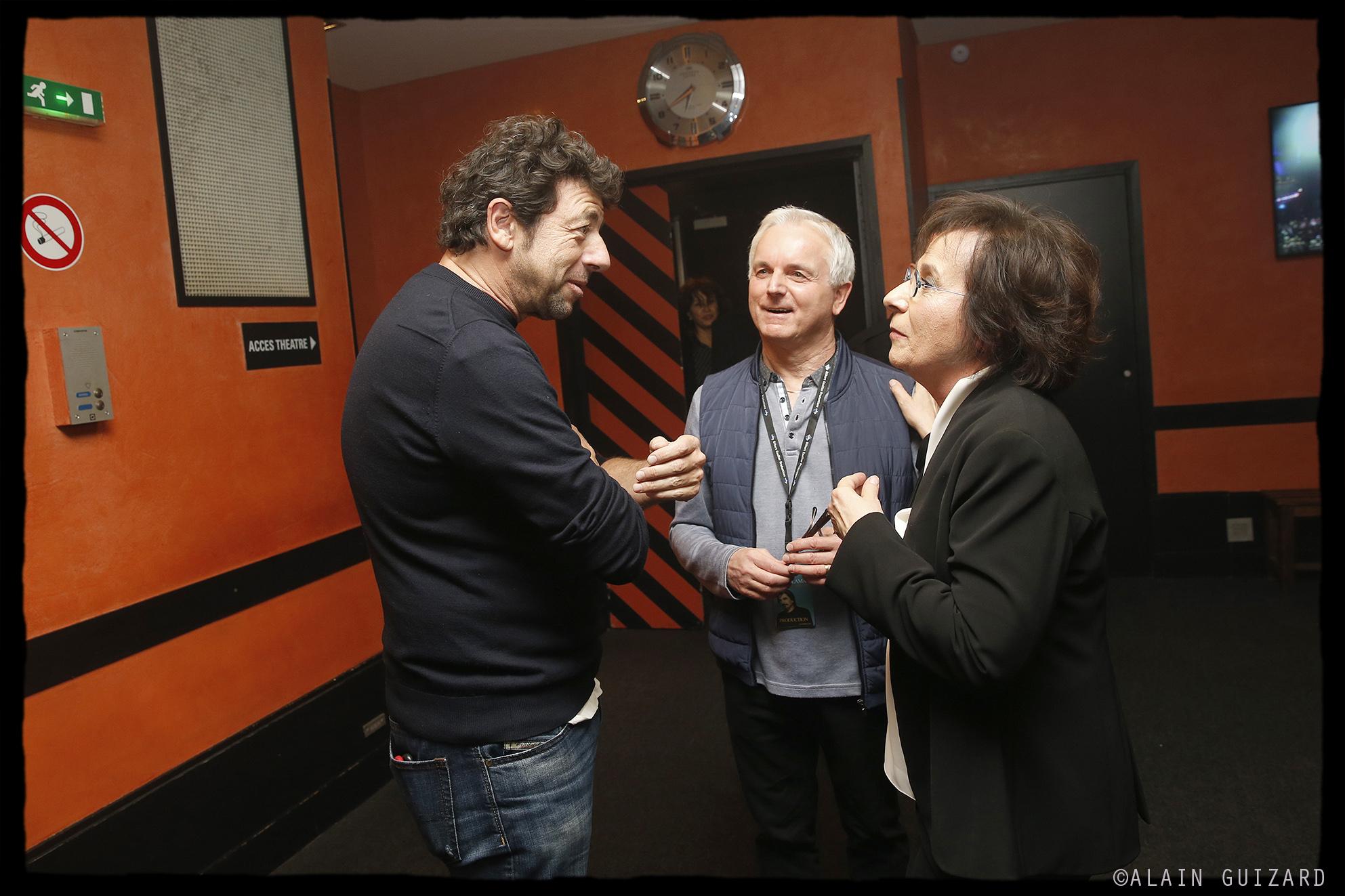 Patrick Bruel, Michel Miletti, Marie Paule Belle