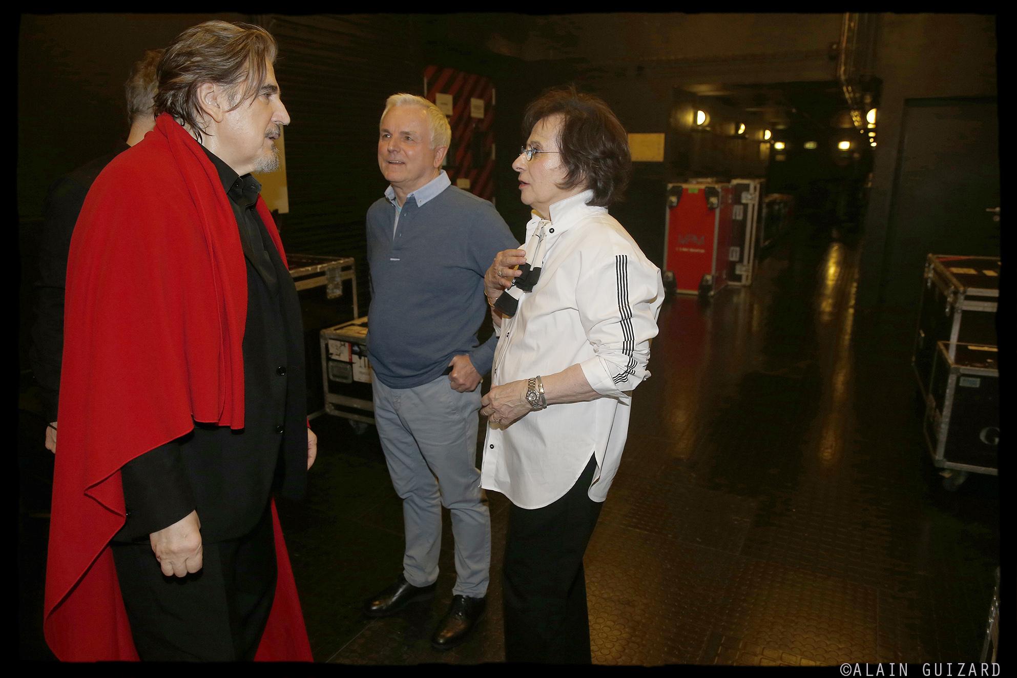 Serge Lama, Michel Miletti, Marie Paule Belle