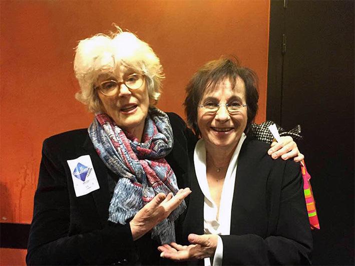 Marie Paule Belle & Marion Sarraut