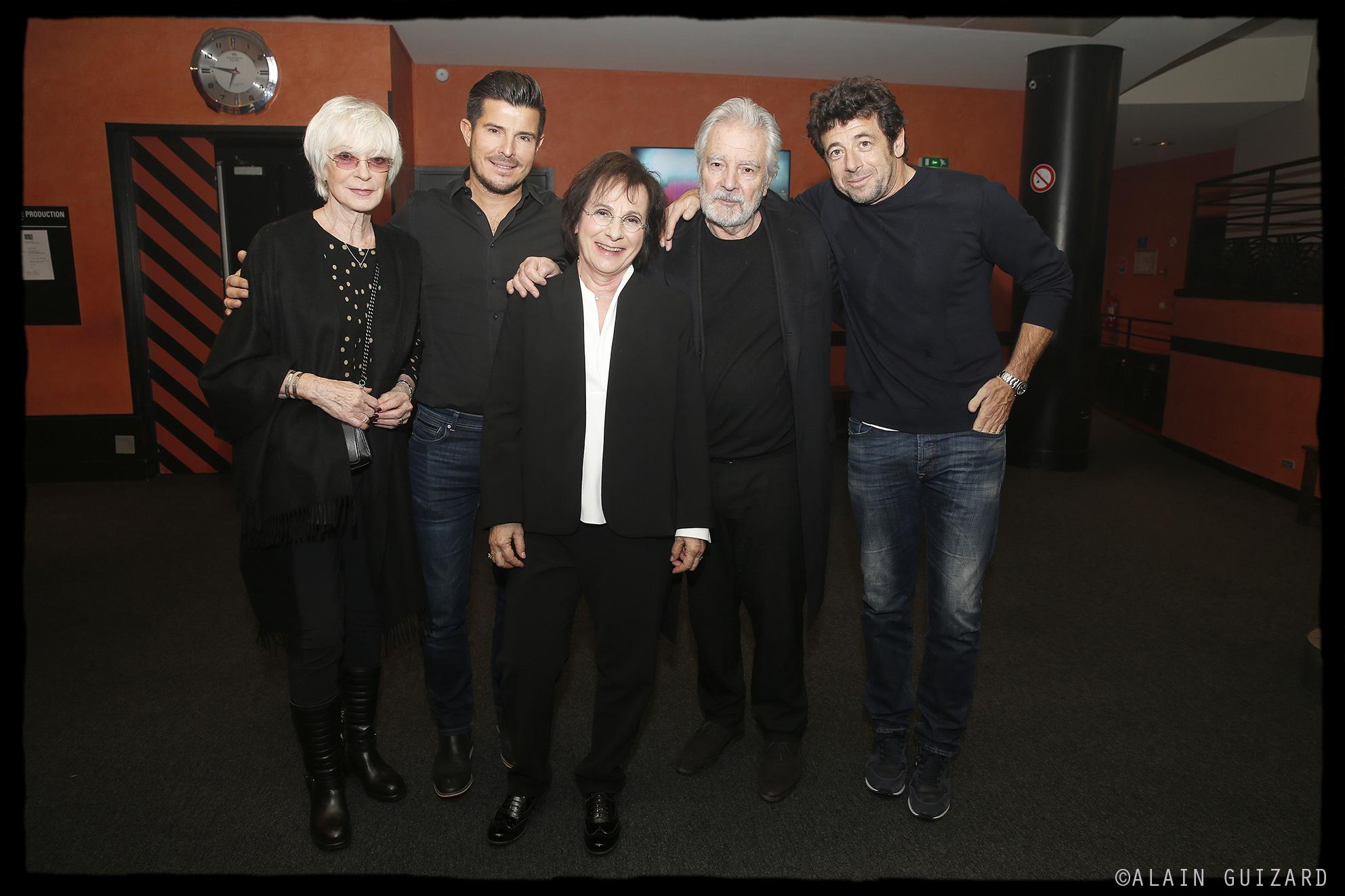 Alice Dona, Vincent Niclo, Marie Paule Belle, Pierre Arditi, Patrick Bruel