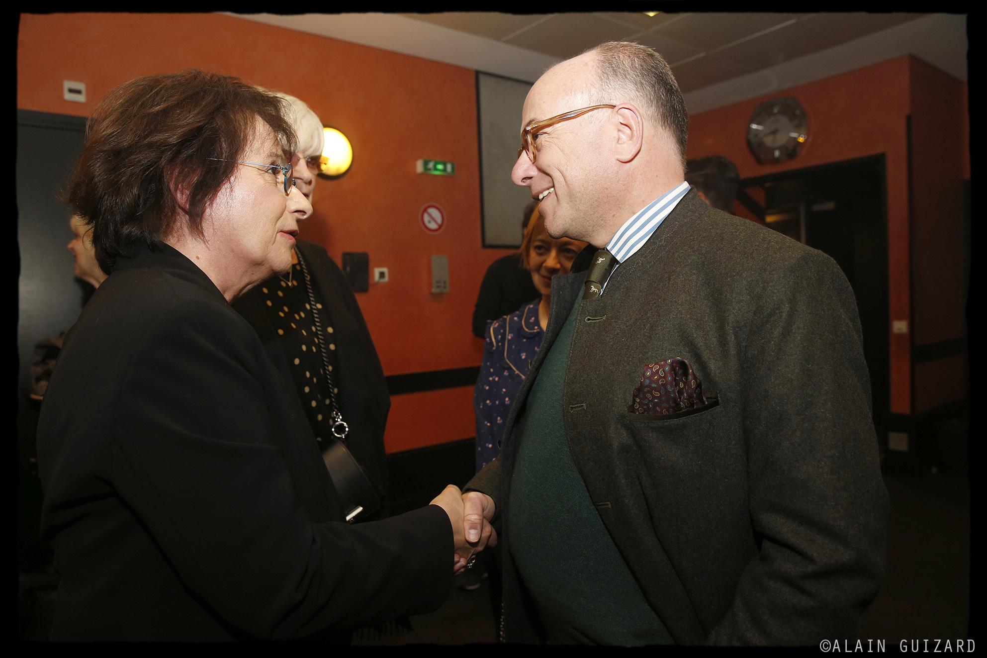 Marie Paule Belle & Bernard Cazeneuve