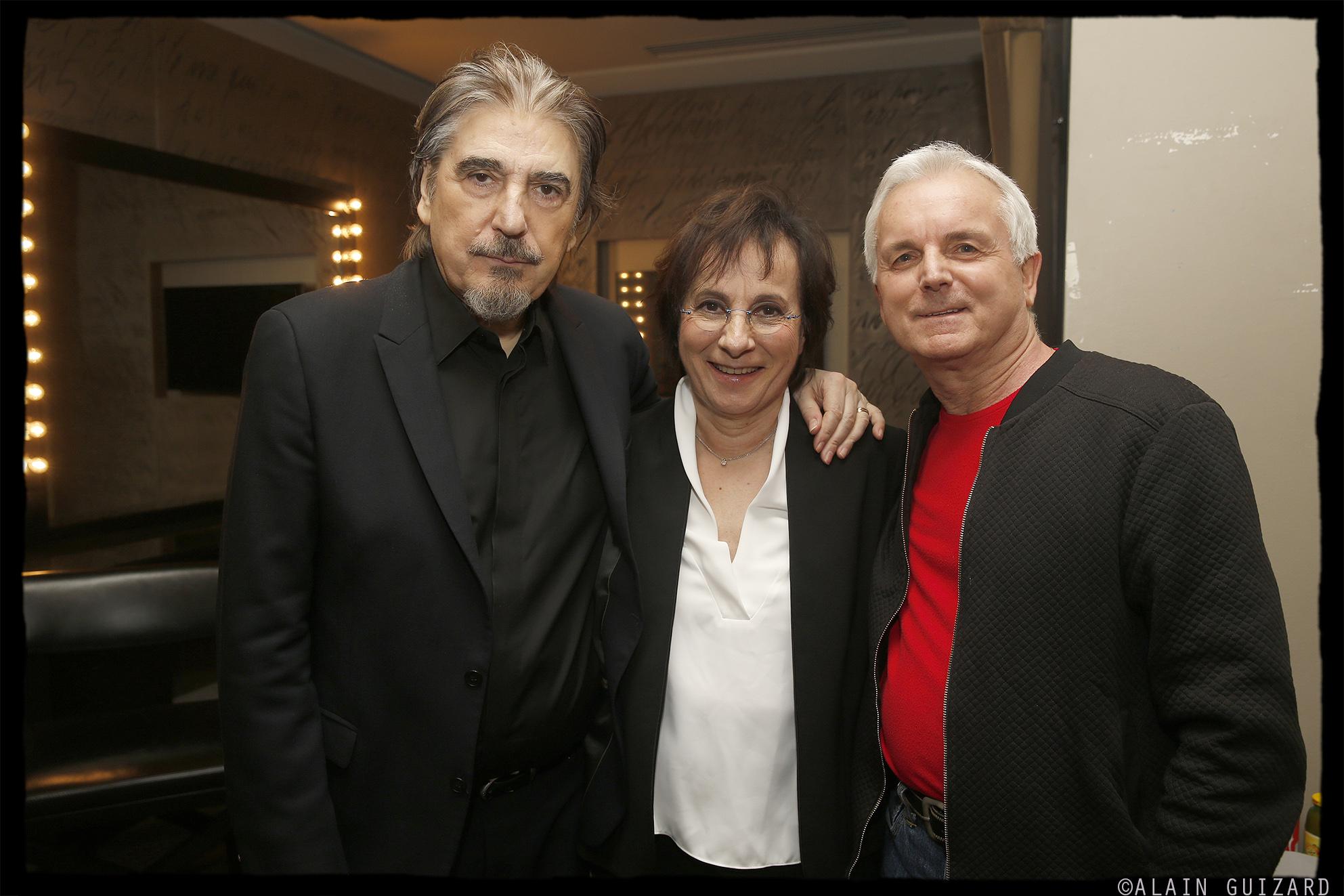 Serge Lama, Marie Paule Belle, Michel Miletti