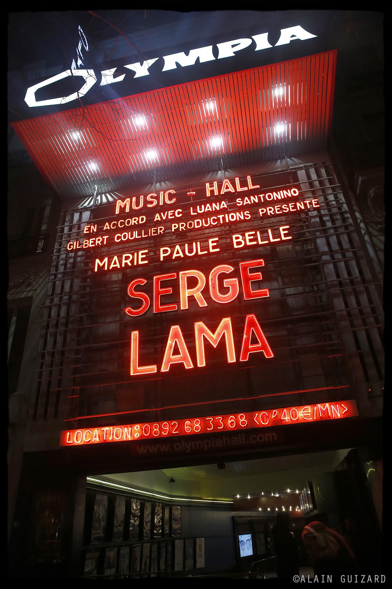 Olympia - Serge Lama & Marie Paule Belle 01