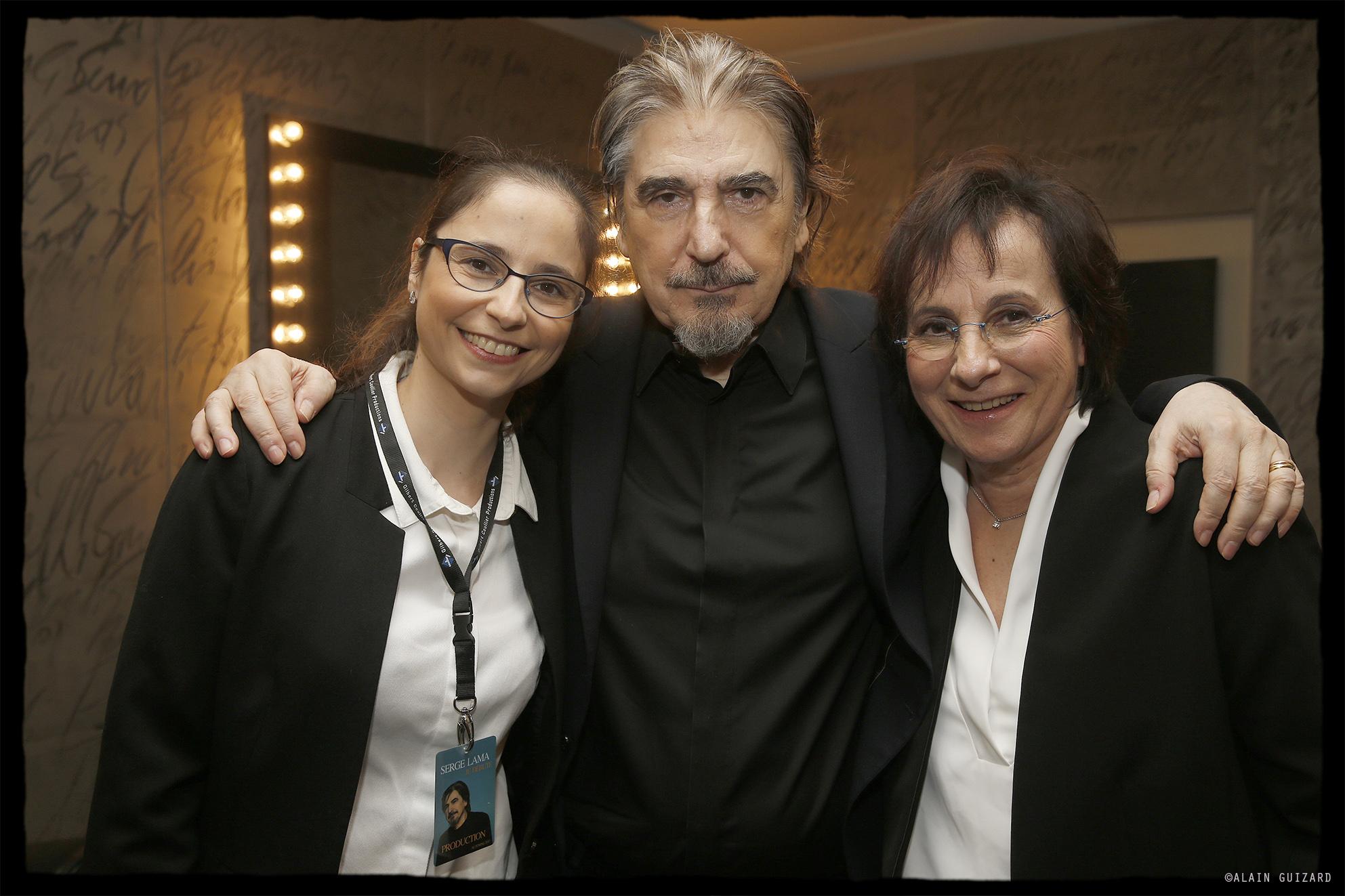 Luana Santonino, Serge Lama, Marie Paule Belle