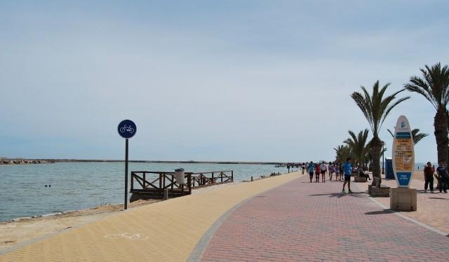Paseo de los Lodos del Mar Menor