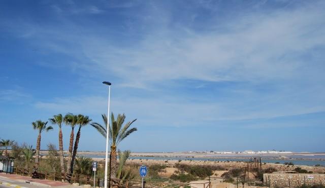Vista desde Apartamentos Sol y Lodo - Salinas de San Pedro del Pinatar