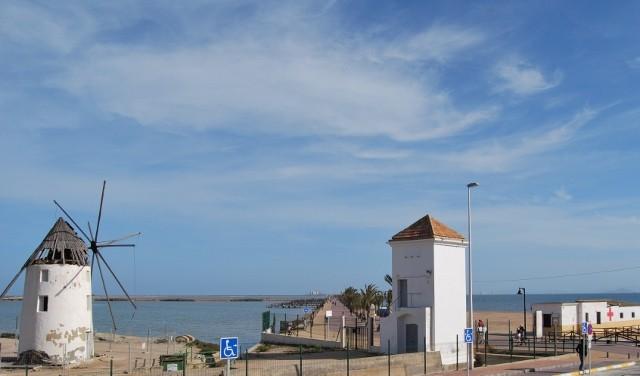 Vista desde Apartamentos Sol y Lodo - Lodos del Mar Menor