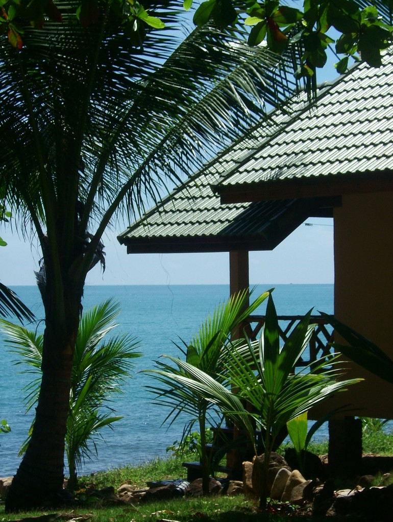 All bungalows have seaviews....
